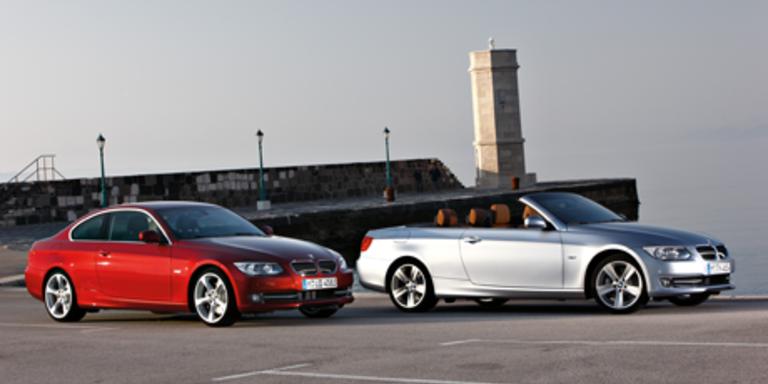 BMW verpasst Coupé und Cabrio ein Facelift
