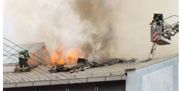 Brand auf ÖBB-Gelände in St. Pölten unter Kontrolle