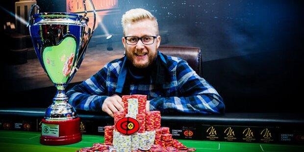 Austro-TV-Star gewinnt Poker-Turnier