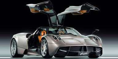 Weltpremiere des Pagani Huayra mit 700 PS