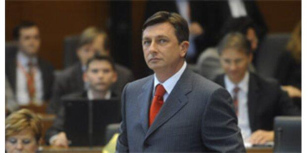 Borut Pahor ist neuer slowenischer Regierungschef