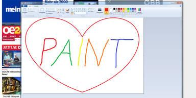 Microsoft lässt 'Paint' doch am Leben