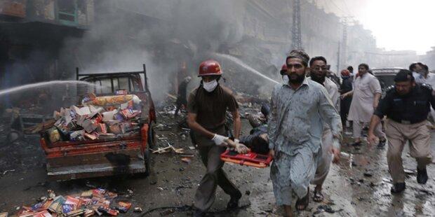 31 Tote bei Bombenanschlag