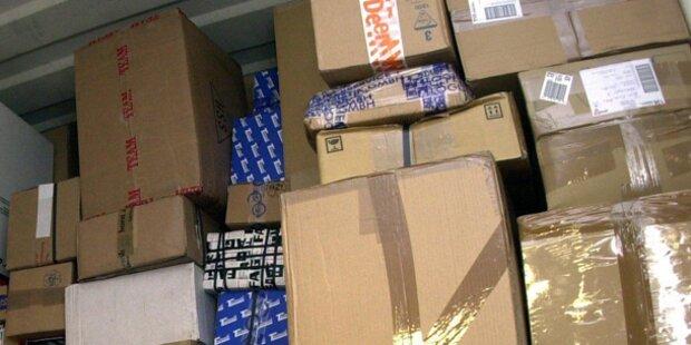 Postler stahl Waren im Wert von 14.000 Euro
