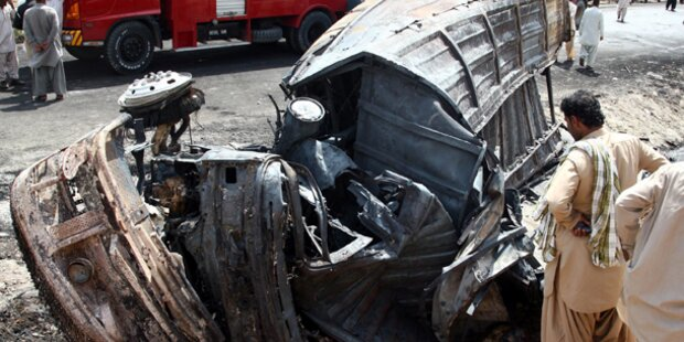 35 Tote bei Horror-Crash in Pakistan