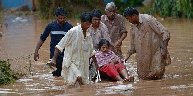 Über 100 Tote bei Flut in Pakistan