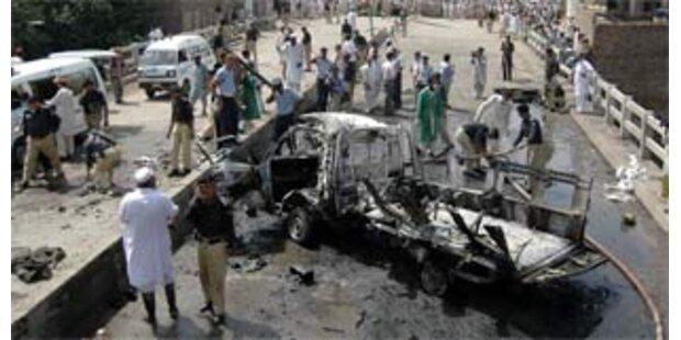 14 Tote bei Anschlag auf Militärbus