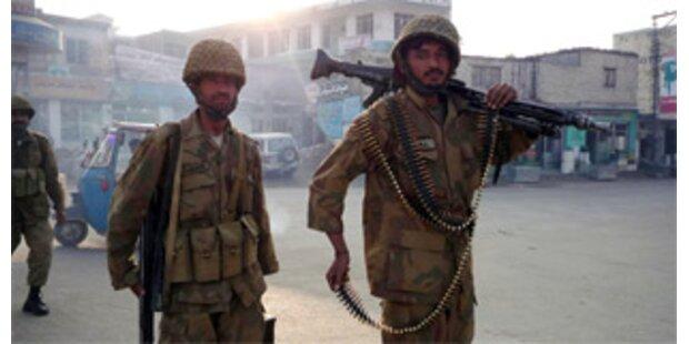 Mindestens 13 Tote bei Gefechten in Pakistan