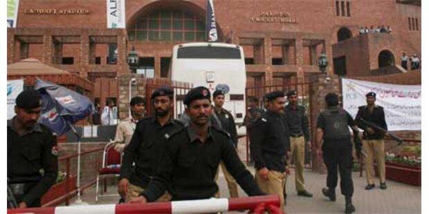 Mehrere Festnahmen nach Anschlag auf Cricket-Team