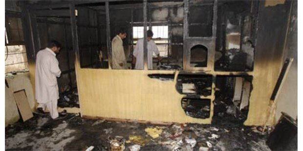 Besetzte Polizeischule gestürmt