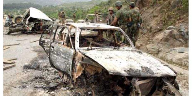 Schwere Gefechte in Nord-Pakistan