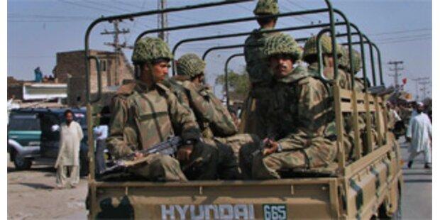 24 pakistanische Soldaten im Grenzgebiet getötet