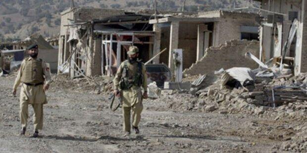 Pakistan: Fünf Aufständische getötet