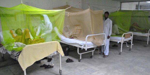 Nun auch Cholerafälle in Pakistan