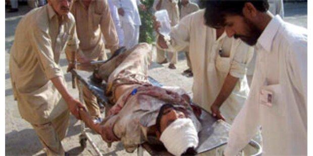 Sechs Polizisten in Pakistan getötet