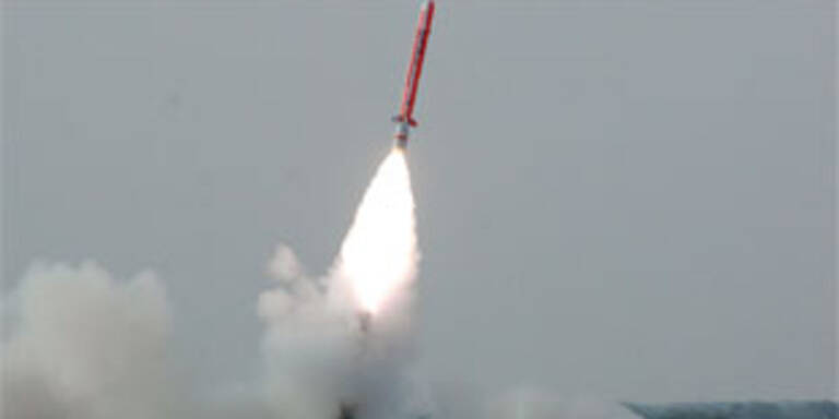 Pakistan testet Atom-Rakete