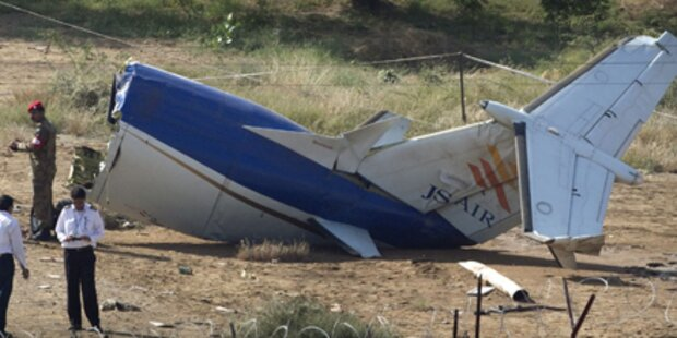 Pakistan: 21 Tote bei Flugzeugabsturz