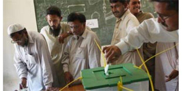 Geringe Wahlbeteiligung in Pakistan