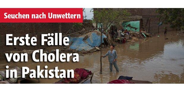 Erste Fälle von Cholera in Pakistan