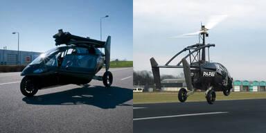 Fliegendes Auto absolvierte Jungfernflug