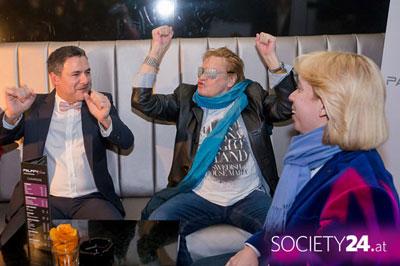Helmut Berger im Palffy Klub