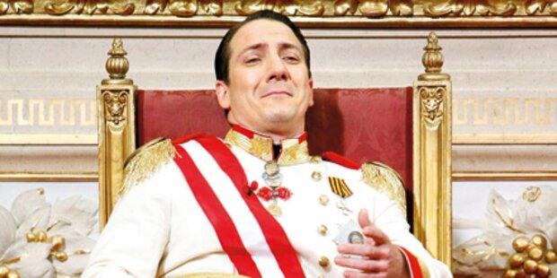 Kaiser Palfrader wird
