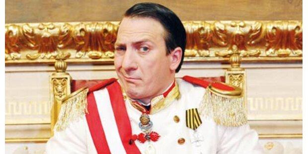 Seine Majestät wird jetzt Arbeitsloser