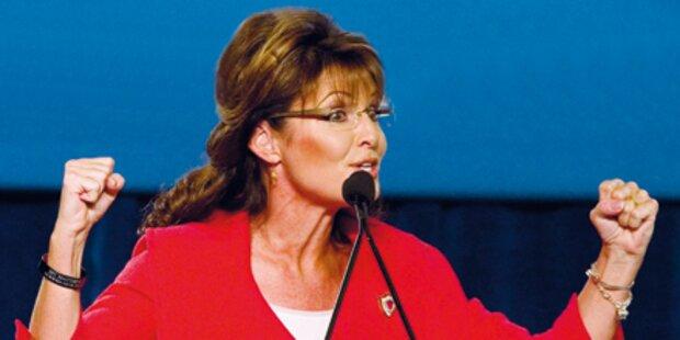 Palin glaubt an Sieg über Obama