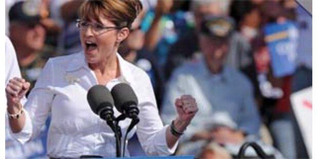 Palin hält Fans für Demonstranten