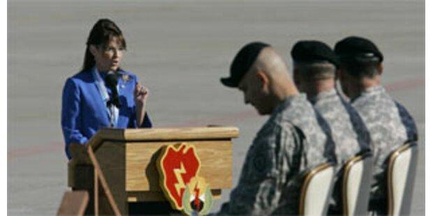 Sarah Palin schickt ihren Sohn in den Irak-Krieg