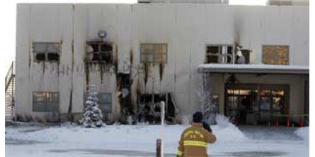 Brandstiftung in Kirche von Sarah Palin