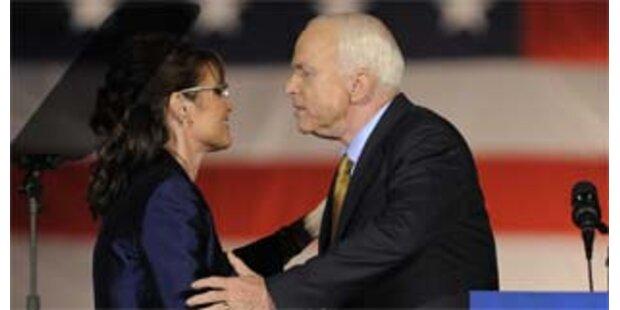 Palin war nicht schuld an McCains Niederlage