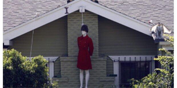 Erhängte Palin-Puppe empört die USA