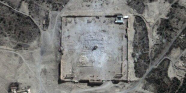Satellitenbilder belegen Tempel-Zerstörung
