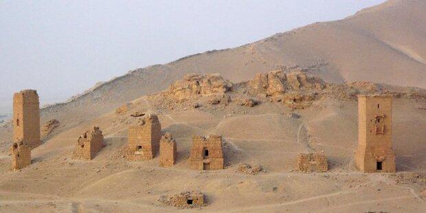 ISIS sprengt Grabtürme in Palmyra