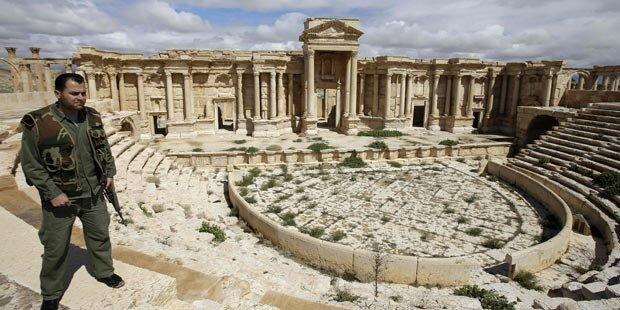Wie groß ist Verwüstung in Palmyra?