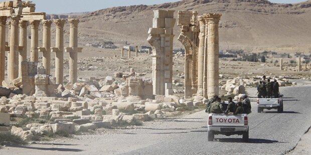 Neue Offensive gegen IS in Palmyra