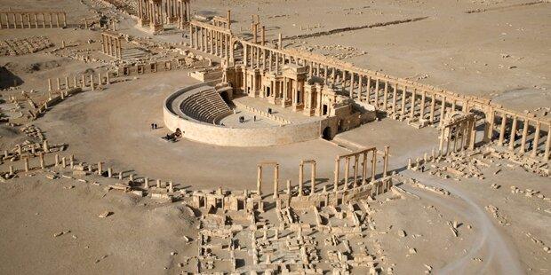 38 ISIS-Kämpfer in Palmyra getötet
