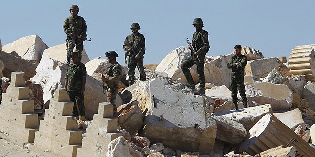 Syrische Armee fand Massengrab in Palmyra