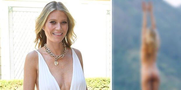 Gwyneth Paltrow zieht komplett blank auf Instagram