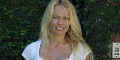 Pam Anderson ohne Make-Up erwischt
