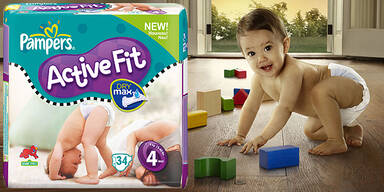 Pampers Historie Produkte