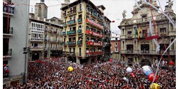 In Pamplona sind wieder die Bullen los