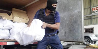 Halbe Tonne Heroin in Panama beschlagnahmt