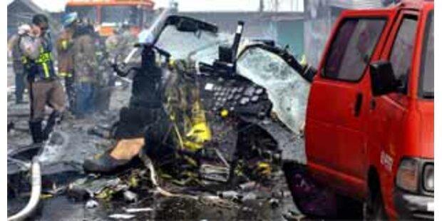 Elf Tote bei Hubschrauber-Absturz in Panama