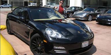 Stallones Porsche Panamera bei eBay