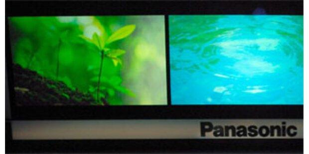 Panasonic kündigt TV mit Internetzugang an