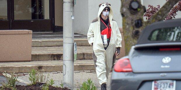 US-Polizei schoss Mann in Pandakostüm nieder