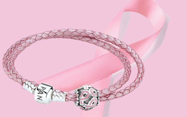 Pink Ribbon Schmuck von Pandora