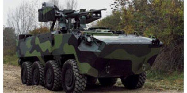 Prag will mit Steyr wieder über Panzer verhandeln
